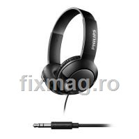 Casti on-ear PHILIPS SHL3070BK/00, Bass+, Negru