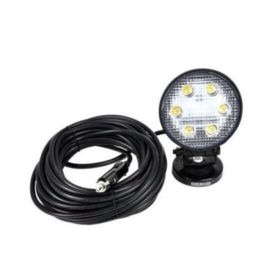 Lampa de atelier cu led, Bass BS-3928, putere mare 18 W, 1620 lm, alimentare 12-24 V, IP67